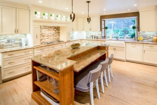 Custom cabinet by Oxford Cabinetry