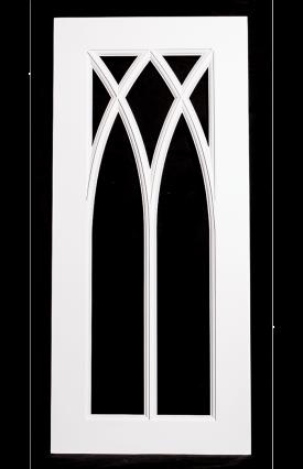 Cathedral Glass Door
