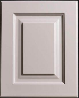 Colonial M-bead L-2 Stonington Grey Standard Door