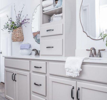 Semi custom Derr bathroom