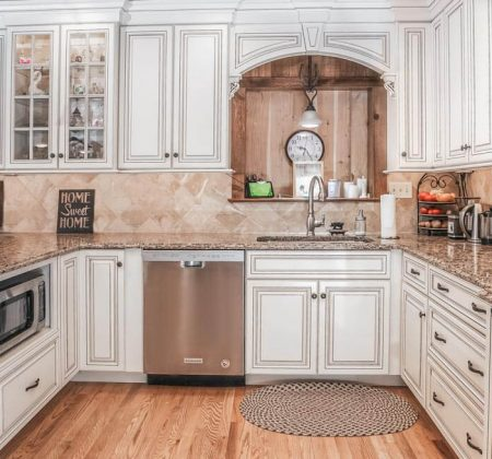 Semi custom England kitchen