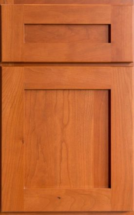 Full overlay cabinet door and drawer