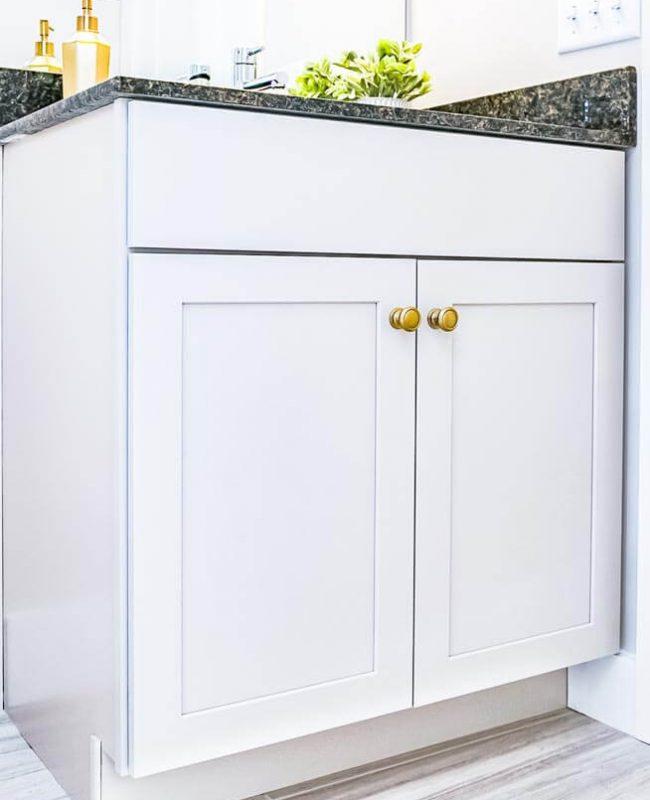 Mantra semi-custom cabinetry