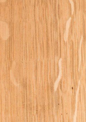 Natural on Quarter Sawn Oak
