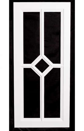 Gemstone Glass Door